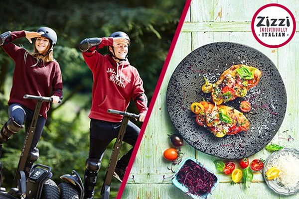 image of 60 Minute Segway Adventure for Two with Three Course Meal at Zizzi