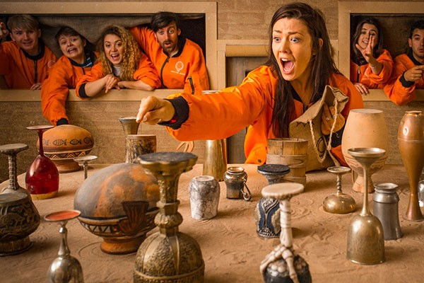 Crystal Maze LIVE Experience with Souvenir Crystal and T-Shirt for Two, London