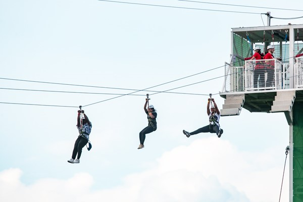 City Zip Ride in London for Four