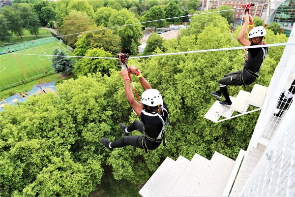City Zip Ride in London for Two