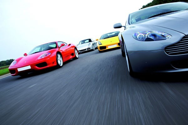 Five Supercar Driving Thrill with Passenger Ride - Weekends