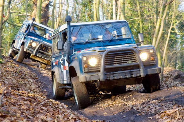 image of Extended 4x4 Driving Experience at Brands Hatch