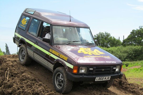 image of Junior 4x4 Driving Experience