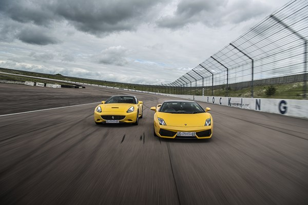 Double Supercar Driving Blast with Free High Speed Passenger Ride - Week Round