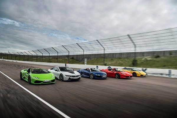 Five Supercar Driving Blast with Free High Speed Passenger Ride - Week Round