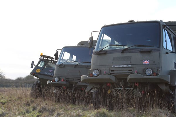 image of 4x4 Army Truck Rough Terrain Driving Experience for One