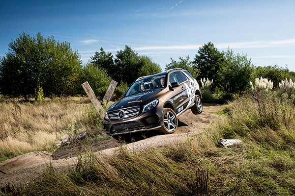 Mercedes-Benz World Young Driver 4x4 Off Road Experience