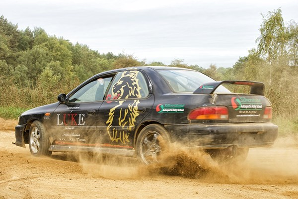 Double Rally Driving Thrill for One at Silverstone Rally School