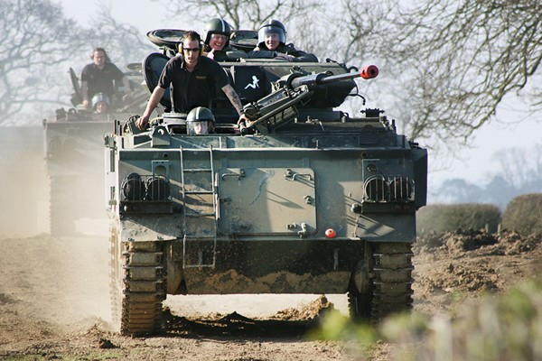 Tank Driving Taster in Leicestershire