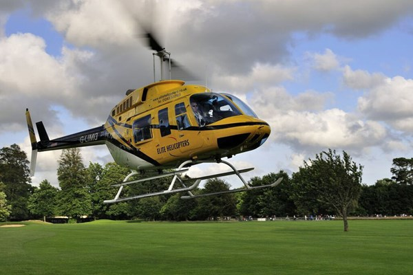 10 Minute Goodwood Gallop Helicopter Tour for Two