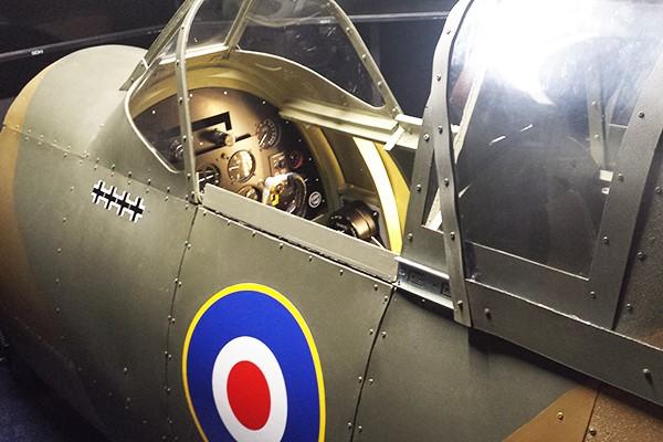 2 for 1 WW2 Spitfire and Messerschmitt Flight Simulator Experience