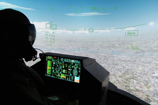 30 Minute F-35 Thor Fighter Jet Simulator Experience in Newcastle-Upon-Tyne