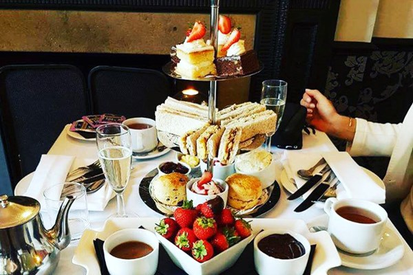 Champagne Afternoon Tea for Two at The Craiglands Hotel