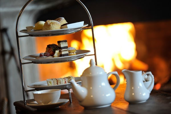 image of Afternoon Tea for Two at Thornbury Castle Hotel