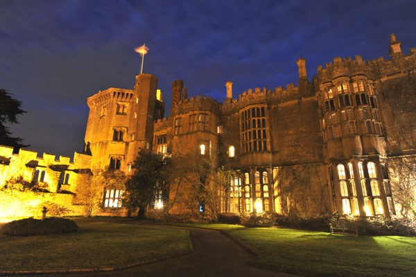 image of Three Course Dinner for Two at Thornbury Castle Hotel