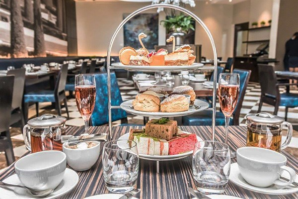 London: Sparkling Afternoon Tea for Two at 5* The Montcalm Marble Arch