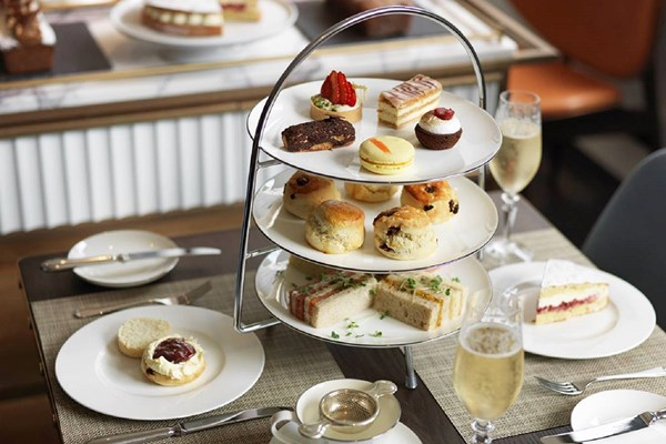 London: Champagne Afternoon Tea for Two at Galvin at The Athenaeum - Special Offer