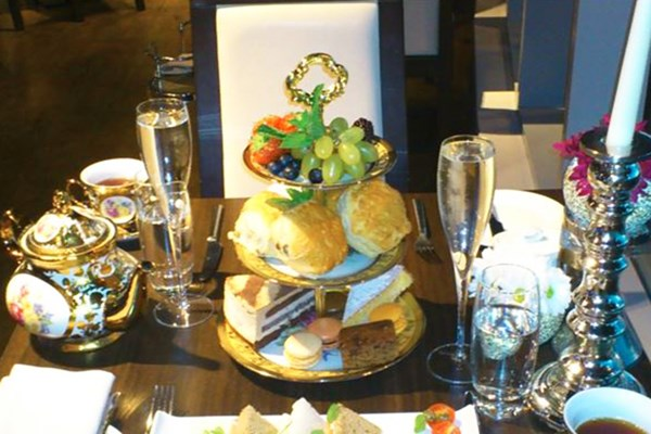 Champagne Afternoon Tea for Two at Hotel Rafayel