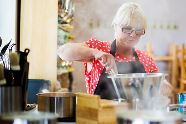 Half Day Cookery Class for One at Rosemary Shrager Cookery School