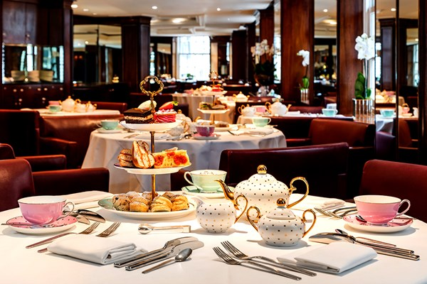 London: Afternoon Tea with a Bottle of Prosecco for Two at Scoff and Banter Tea Rooms