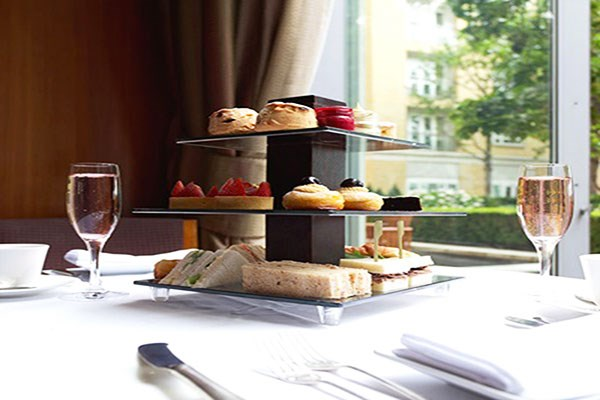 image of Afternoon Tea with Fizz for Two at Canary Riverside Plaza Hotel
