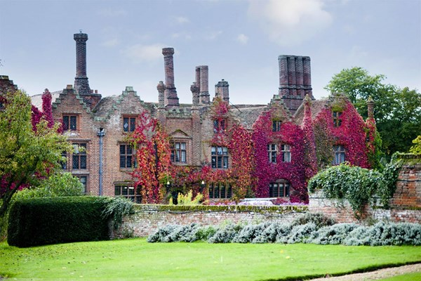 Three Course Meal at Seckford Hall Hotel