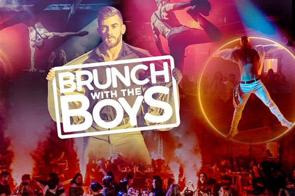 Brunch with the Boys and Bottomless Bubbles for Two at FEST