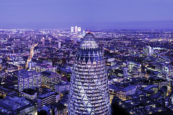 Twelve Oysters and Bottle of Cuvee Champagne for Two at Searcys at The Gherkin