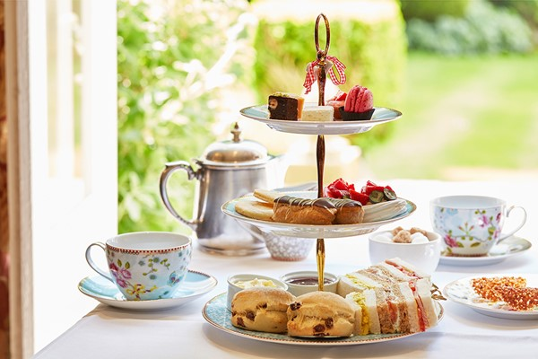Champagne Afternoon Tea for Two at Ockenden Manor