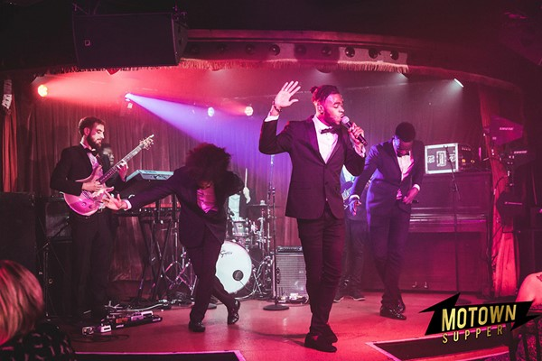 Three Course Dinner with Drinks and Motown Performance for Two at FEST Camden