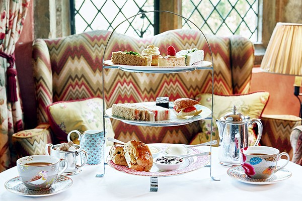 Afternoon Tea at Bailiffscourt Hotel and Spa for Two