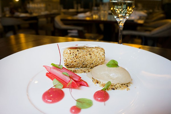 Three Course Meal with a Bottle of Fizz for Two at Dobson and Parnell