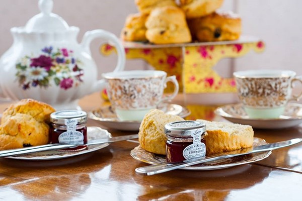Afternoon Tea with Bottomless Prosecco for Two at Dorset Cruises