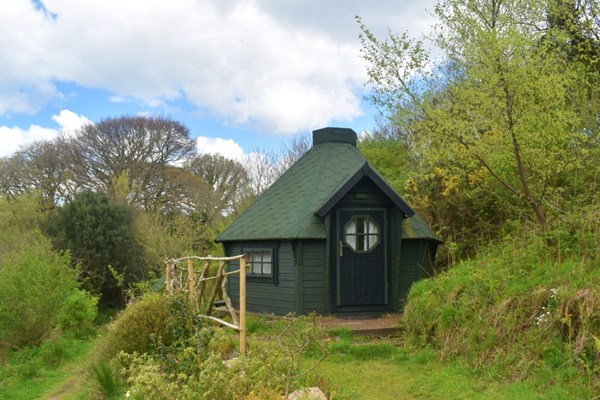 image of Two Night Stay in a Hobbit Hut at Acorn Camping