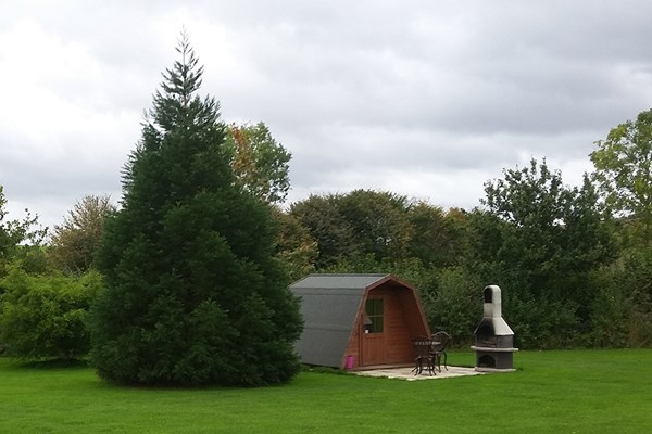 image of Overnight Glamping Break at Greenway Touring and Glamping Park