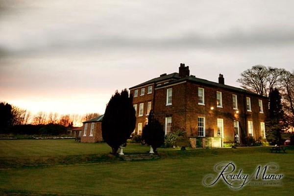 Two Night Break with Dinner at Rowley Manor Country House Hotel