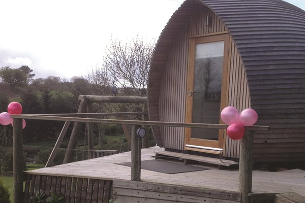 image of One Night Stay in a Glamping Pod at Westwood Hideaway