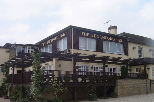 Two Night Getaway with Dinner and a Glass of Wine at The Lenchford Inn for Two