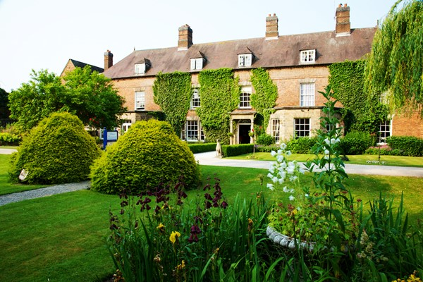 Overnight Luxury Escape with Dinner and Fizz at Risley Hall Hotel