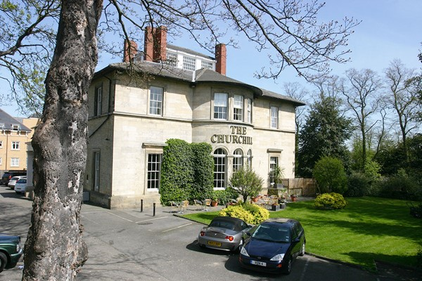 One Night Boutique Escape with Dinner for Two at The Churchill Hotel