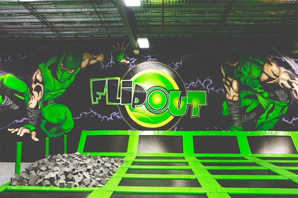 Family Entry to Indoor Trampolining at Flip Out
