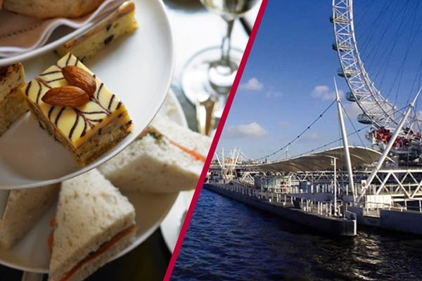 Thames Rover Pass and Afternoon Tea for Two at Art St. Kitchen, Westminster