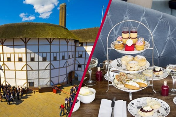 Shakespeare's Globe Guided Tour with Afternoon Tea for Two