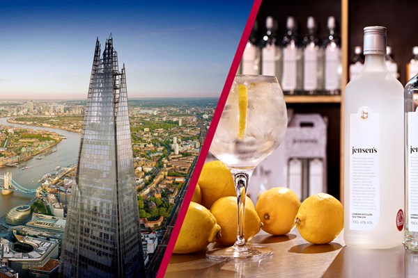 The View from the Shard & Jensens Gin Experience for Two at Bermondsey Distillery