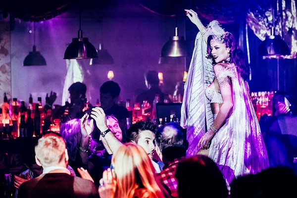Cabaret Show with a Three Course Meal and a Drink for Two at FEST