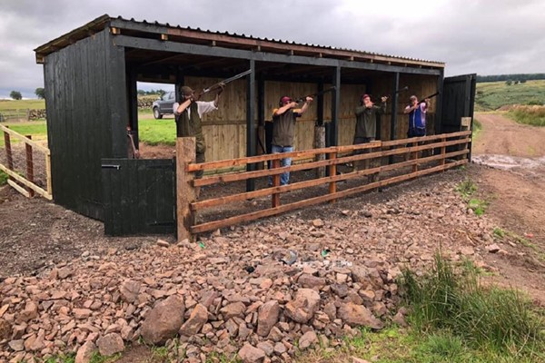 Clay Pigeon Shooting for One at Hunting Scotland