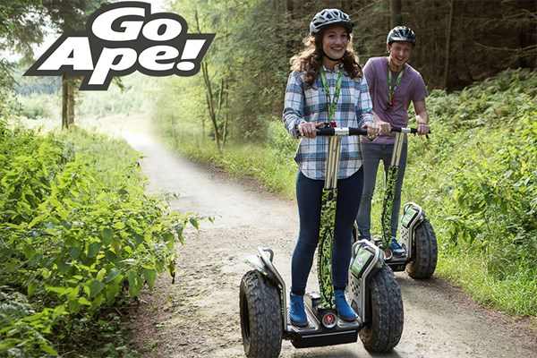 image of Forest Segway Experience for Two at Go Ape