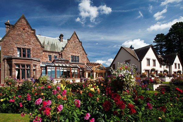 One Night Spa Escape with Dinner and Wine for Two at Appleby Manor Country House