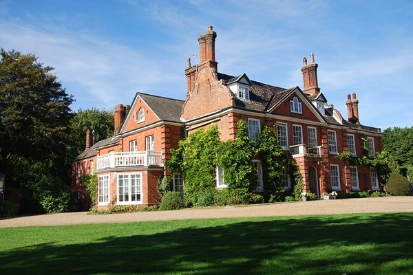 One Night Break with Dinner and Champagne for Two at The Norfolk Mead Hotel