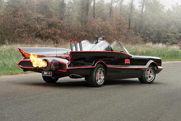 Superhero Driving Blast